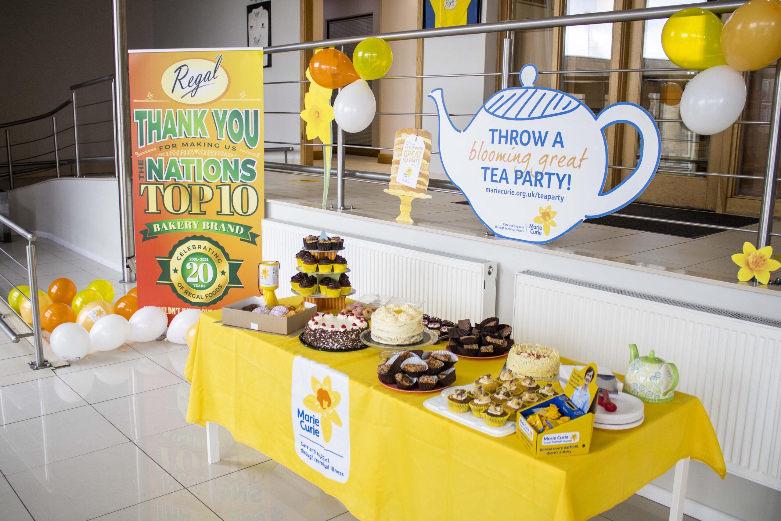 Tea Party Raises £1,000
