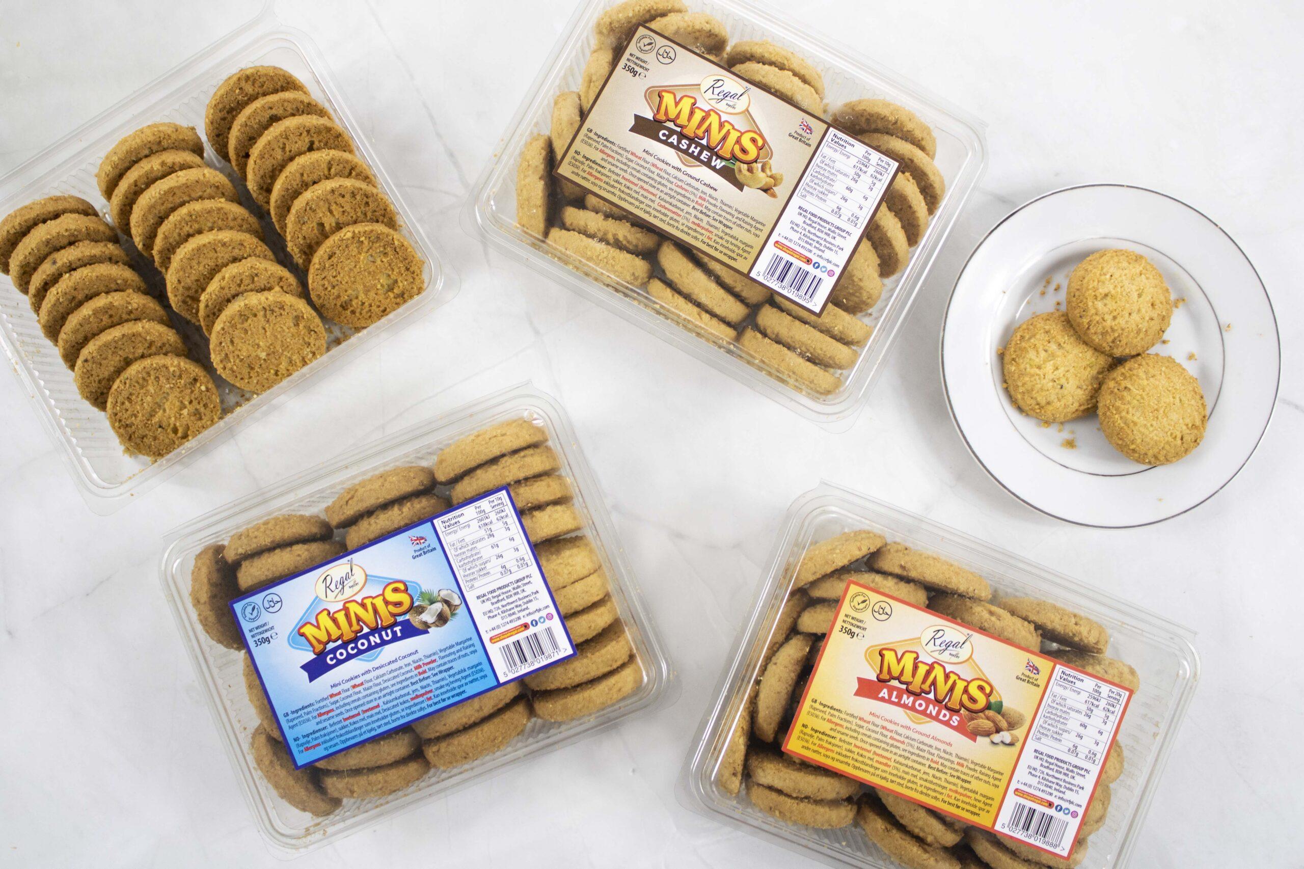 Regal Bakery Launch Minis Cookie Range